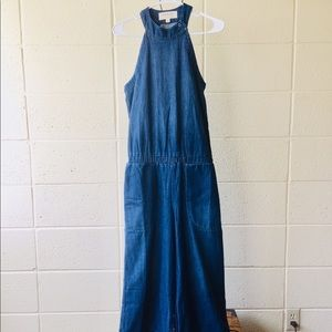 NWOT Cloth and Stone Denim Overalls